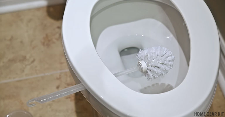 toilet brush cleaning