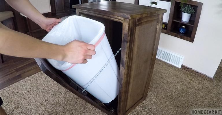 How to Hide Garbage Cans