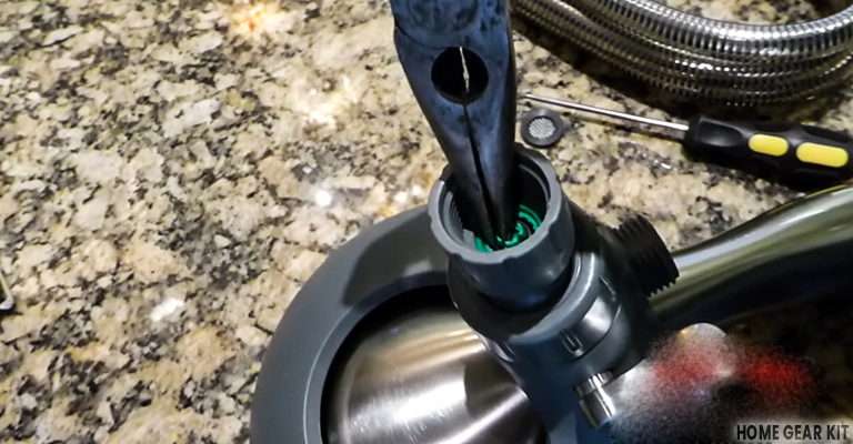 How to remove a flow restrictor