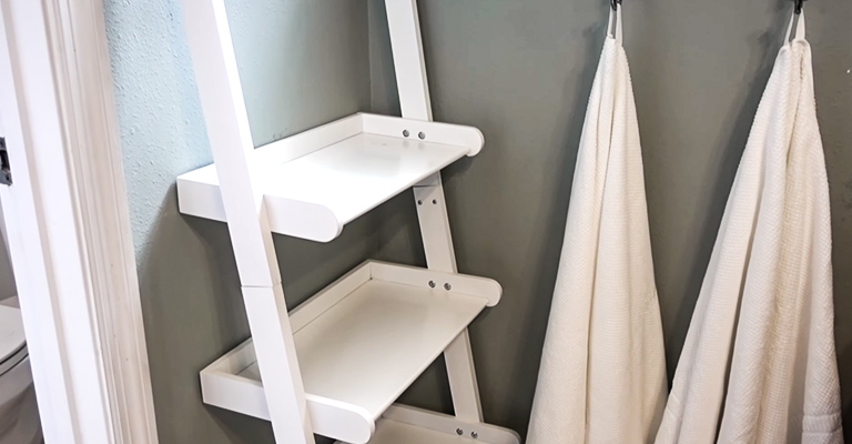 bathroom ladder for towels Review