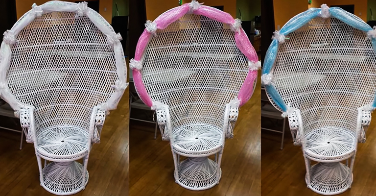 Sensational Baby Shower Chair Decoration Ideas