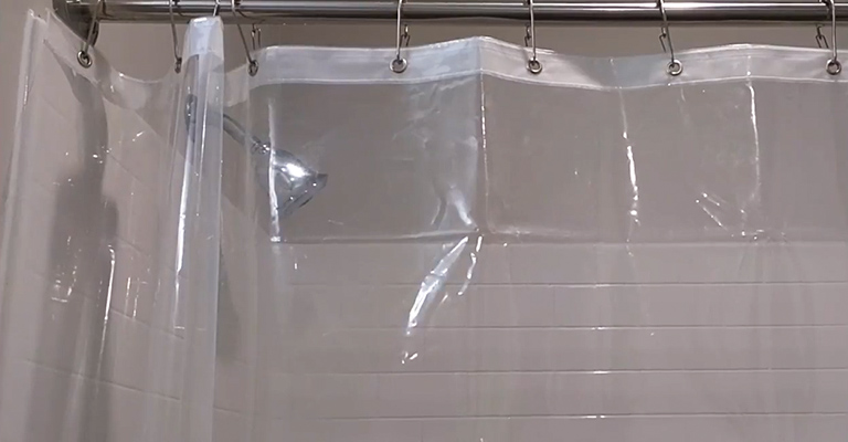 How to Wash a Plastic Shower Curtain