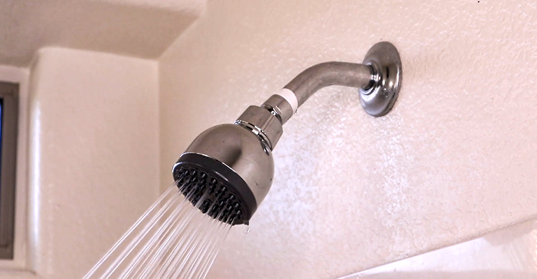 Low Water Pressure Showers